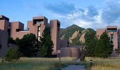 I M Pei. Mesa Laboratory NCAR. Boulder. Colorado. Early 1960s