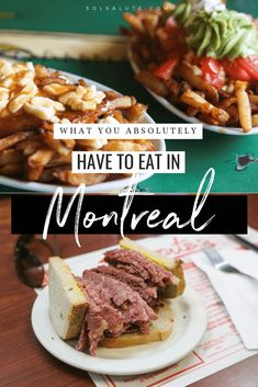 Must eat Montreal foods what to eat in Montreal foods to try in Montreal best poutine in Montreal traditional Montreal food traditional Canadian food best bagels in Montreal Montreal Food Tours Best Bagels In Montreal, Montreal Food, Montreal Travel, Montreal Ville, Montreal Quebec, Montreal Vacation, Canadian Travel, Canadian Food, Canadian Rockies