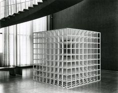 Sol Lewitt | Nine-part Modular Cube | 1967