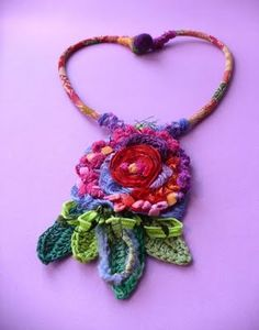 Crocheted necklace (image only)