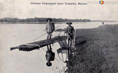 Fotos de Tampico, Tamaulipas, México: Pescadores chinos cerca de Tampico