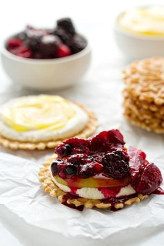 Roasted Berry Napoleon | mybakingaddiction.com