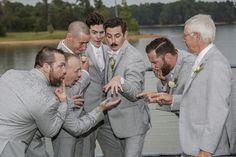 Atlanta. Wedding. Photography. Candid. Groomsmen.