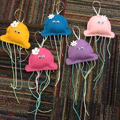 Jelly Fish Cotton Stuffed Underwater Themed Door Decs Door Decs, Jelly Fish, Underwater, Decorations, Cook, Crafty, Fun, Recipes, Ideas