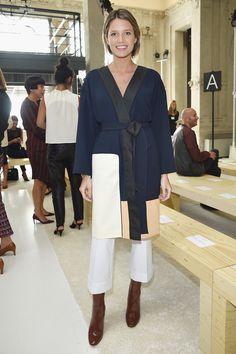 Helena Bordon - Giamba Spring 2016 Front Row - September 25, 2015 #MFW #FROW