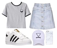 """""""Casual fay"""" by clothable on Polyvore featuring Chicnova Fashion, Topshop, adidas and Casetify"""