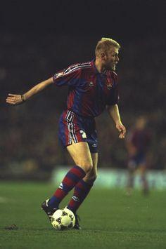 Robert Prosinecki of FC Barcelona, 1995/96. Source: Yahoo!