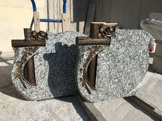 Spray White granite Grave Plaques, White Granite, Stone Sculpture, Monuments, Dads, Throw Pillows, Products, Toss Pillows, Cushions