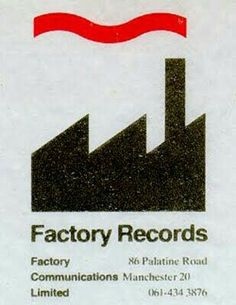 Factory Records Manchester - The Hacienda, Peter Saville and Ben Kelly Peter Saville, Gfx Design, Design Logo, Label Design, Design Packaging, Package Design, Herb Lubalin, Video Series, Record Label Logo
