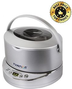 Ivation IVUC96W Digital Ultrasonic Cleaner