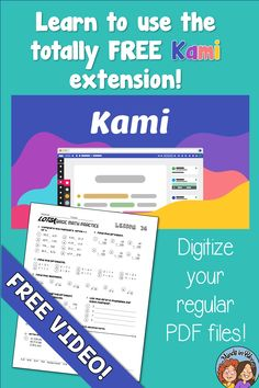 With a worldwide and unexpected transition to distance learning, teachers all over found themselves having to adapt to digital instruction. When you rely on printable resources, how can you make that work in a digital teaching environment? The answer is a digital tool called Kami! Kami is a Google Chrome extension that you can use type on your PDFs, meaning you can teach your students how to use it! This blog post provides a tutorial and videos, so click through to read all about how to use… Social Studies Notebook, Teaching Social Studies, Teaching Tools, Teaching Ideas, Learning Sites, Learning Activities, Differentiated Instruction, Basic Math, Classroom Language