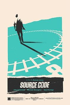 Featured Artist – Olly Moss illustrator Source Code movie poster