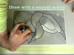 Tutorials for doing own patterns and learning to do stainglass Easily design for stained glass from a picture or photo.