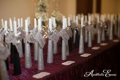escort card ideas for a new years eve wedding reception - Google Search