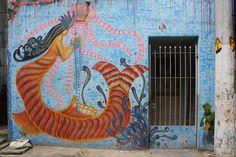 Work by Santa Monica  Favela Água Branca São Paulo Brazil