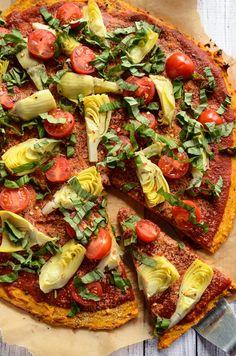 Sweet Potato Pizza Crust | Vegan & Gluten-Free