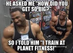Phil Heath at Planet Fitness [Gym Memes] Workout Memes, Gym Memes, Gym Workouts, Workout Fun, Fitness Jokes, Planet Fitness Workout, Funny Fitness, Fitness Fun, Bodybuilding Memes