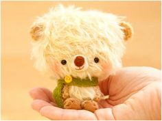 Adorable Amigurumi Teddy Bears - knitted or crocheted miniature bears - will never be able to make these, but as luck would have it Etsy has plenty!