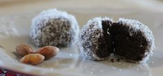 Superfood Snack: Raw Cacao Maca Truffles - Recipe Maca root, an ancient Peruvian superfood,  boosts energy, increases stamina, and nourishes the endocrine system. It's packed with vitamins, minerals, and amino acids