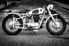 my 1954 bmw r25/3 bobber, pic by www.tomklieber-photography.com