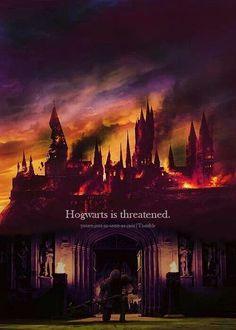 Hogwarts is threatened.