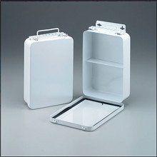 16 Unit- empty metal case- 1 shelf- hinged w/ gasket- 6-5/16 in. x9-1/1 – SK Tack & Supply