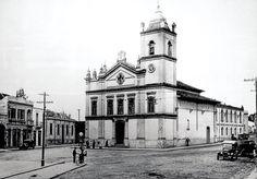 A imagem mais antiga da mostra, de 1909, é da Igreja do Rosário, construída em 1803.