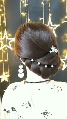 A beautiful hairstyle to complete your elegant style best hairstyles braids braided fashion hairstyle long hair girl easy Bun Hairstyles For Long Hair, Braids For Long Hair, Wedding Hairstyles, Braided Bun Hairstyles, Vintage Hairstyles, Hairstyle Ideas, Pretty Hairstyles, Front Hair Styles, Medium Hair Styles