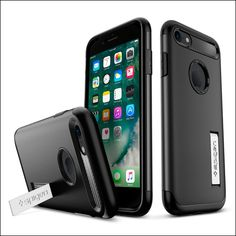Spigen Slim Armor iPhone 8 Case with Kickstand