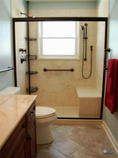 23 Bathroom designs with handicap showers You never think of old ...