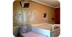 Murales pintados infantiles