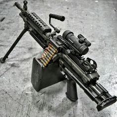 M249 SAW Paratrooper Edition Machine gun............................................................... Visit Now! OwnItLand.com