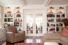 Garden room/ Family room renovation - traditional - family room - new york - Ruth Richards, Allied ASID