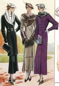 Coats 1930's