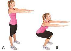 Vous n'avez pas le temps de vous entraîner ? Voici des exercices pour perdre 200 calories en 4 minutes seulement.