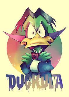 Count Duckula © KanaHyde.