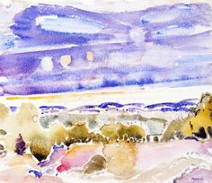 Landscape, Castorland  John Marin