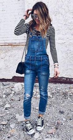 Popular Women's Overall Outfits For Your Perfect Summer No 48