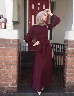 Modern Hijab Fashion, Street Hijab Fashion, Islamic Fashion, Muslim Fashion, Modest Fashion, Fashion Dresses, 80s Fashion, Fashion Tips, Eid Outfits