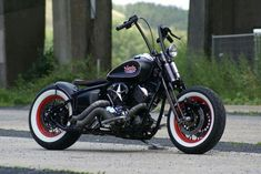 Don't like the bars but the 'rat rod' look is cool!