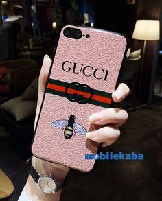 贅沢風ブランドグッチGucciのiPhoneX、iPhone8、iPhone7ケース。カッコイイ動物ミツバチで人気!ブラケット付きでスタンドできる!