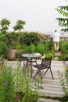 The new luxury : rooftop gardens. #Gardening #RooftopGarden #RooftopGardenIdeas #RooftopGardenDesign Diy Pergola, Pergola Shade, Pergola Kits, Pergola Ideas, Pergola Roof, Terrace Garden, Garden Chairs, Jardin Luxuriant, Terrasse Design