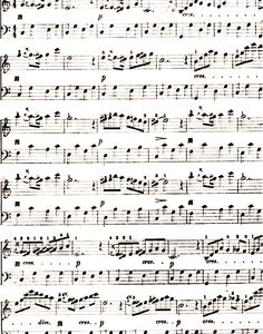 Free Music Sheet downloads.  Great for scrapbooking, alterables and altered books or actually playing the piano