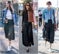 Discover recipes, home ideas, style inspiration and other ideas to try. Old Jeans, All Things Cute, All Star, Ideias Fashion, Winter, Midi Skirt, Fancy, Street Style, Style Inspiration