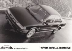 Toyota Corolla Sedan 4WD (works photo, NL)
