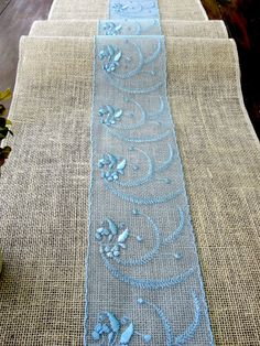 Perfect Burlap Table Runner Wedding Rustic Table Runner With Ivory Vintage Inspired  Lace Rustic Chic , Handmade In The USA | Wedding Ideas | Pinterest | Rustic  ...