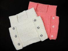 Chaleco para bebé de 1 año tejido con dos agujas / tutorial paso a paso | Crochet y Dos agujas