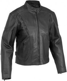 RIVER ROAD RACE LEATHER VENTED JACKET