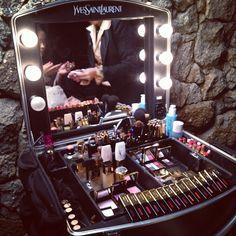 YSL makeup box. Ohhhhhh Myyyyyy God!!!!!!!!!!