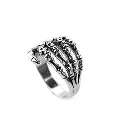 Biker Rings, Skeleton Hands, Hand Ring, Off Black, How To Start A Blog, Black Friday, Bones, Steampunk, Finger